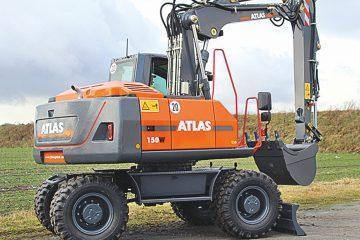 Atlas - Mobiele graafmachine