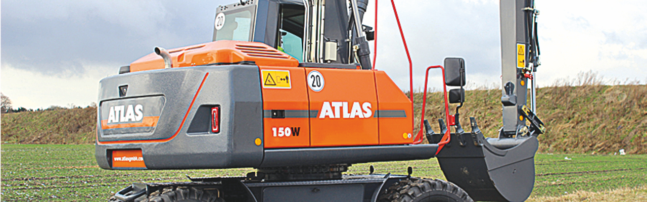 Atlas - Mobiele Graafmachines